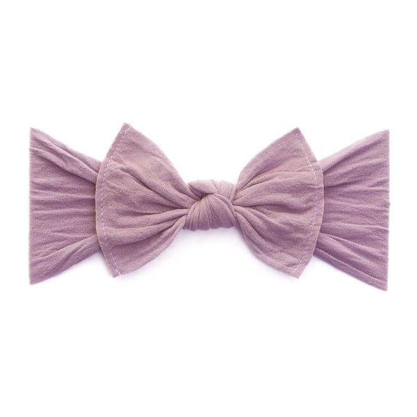 Mauve Classic Knot Headband - Baby Sweet Pea's Boutique