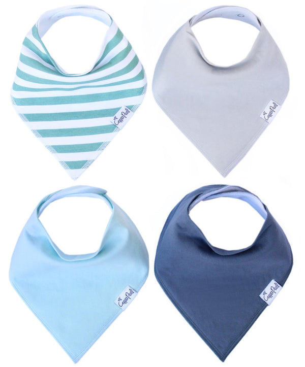 Baby Bandana Bibs- Oxford - Baby Sweet Pea's Boutique