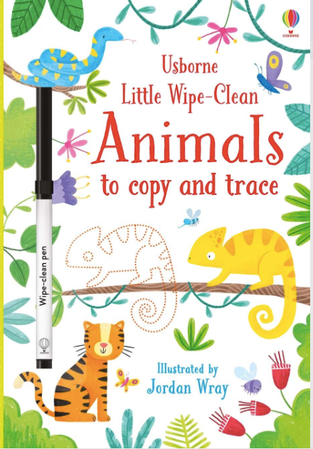 Little Wipe Clean- Animals to Copy and Trace - Baby Sweet Pea's Boutique