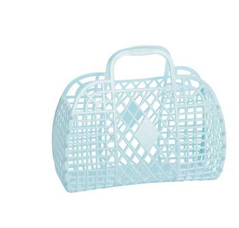 Sun Jellies - Retro Basket Small - Baby Sweet Pea's Boutique