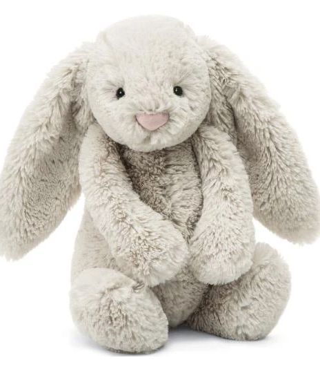 Bashful Oatmeal Bunny - Baby Sweet Pea's Boutique