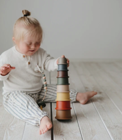 Stacking Tower Toy- Retro