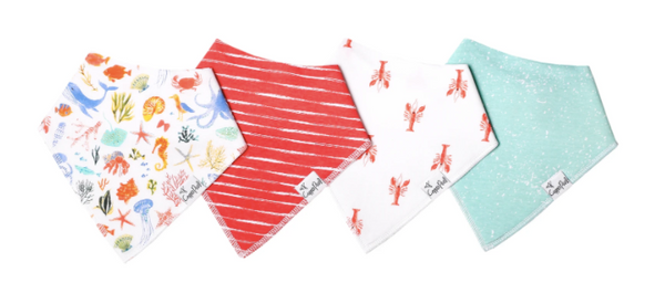 Baby Bandana Bibs- Nautical