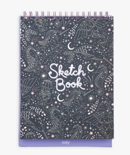 Sketch and Show Standing Sketchbook- Celestial Stars