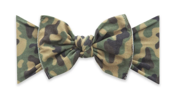 G.I. Printed Classic Knot Bow