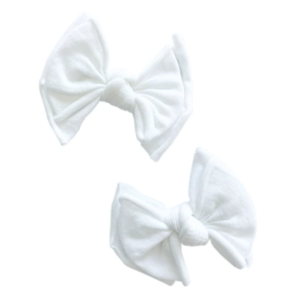 White- 2Pack Baby FAB Clip