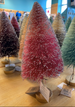 Bottle Brush Christmas Trees
