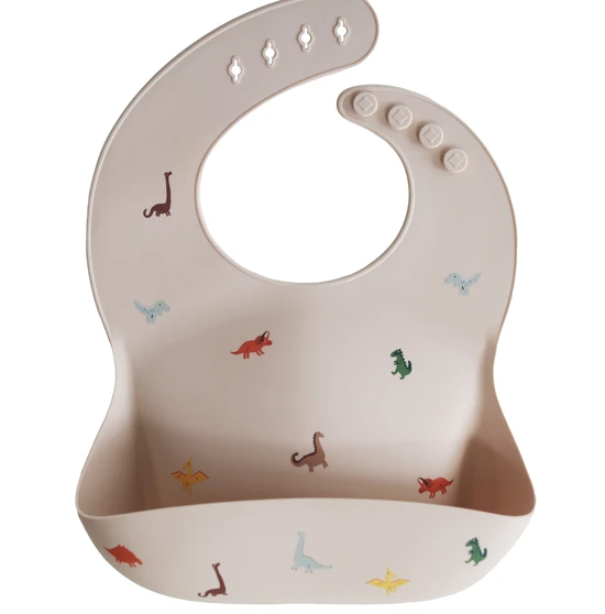 Silicone Bibs-Dinosaurs