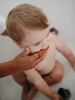 Finger Toothbrush- Shifting Sand and Clay