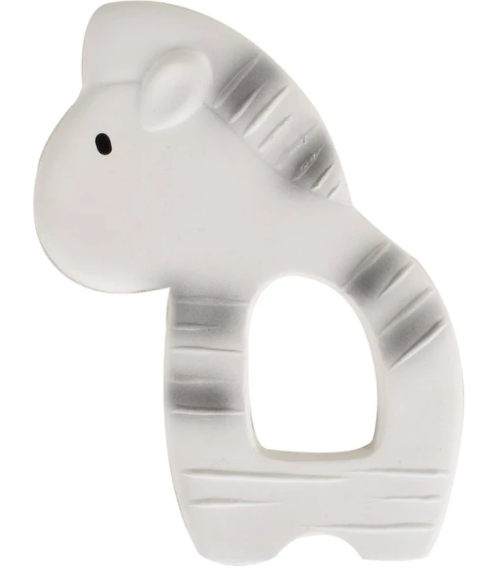 Zebra Natural Rubber Teether