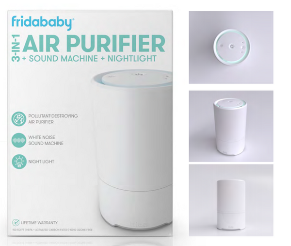 3-1 Air Purifier+ Sound Machine + Nightlight