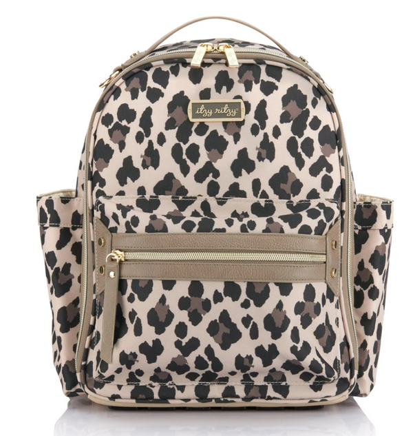 ITZY MINI™ DIAPER BAG - Leopard
