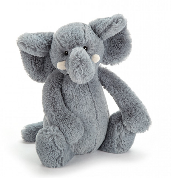 Bashful Grey Elephant - Baby Sweet Pea's Boutique