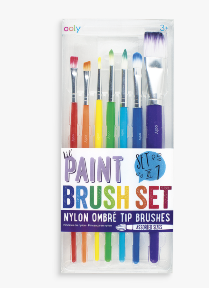 Lil' Paint Brush Set - Baby Sweet Pea's Boutique