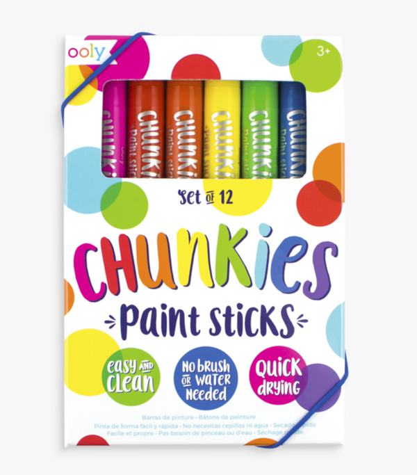 Chunkies Paint Sticks- Set of 12 - Baby Sweet Pea's Boutique