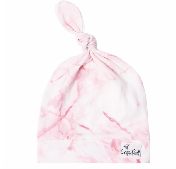 Newborn Top Knot Hat- Roxy