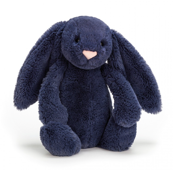 Bashful Navy Bunny - Baby Sweet Pea's Boutique