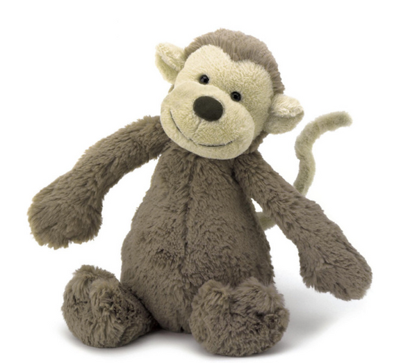 Bashful Monkey - Baby Sweet Pea's Boutique