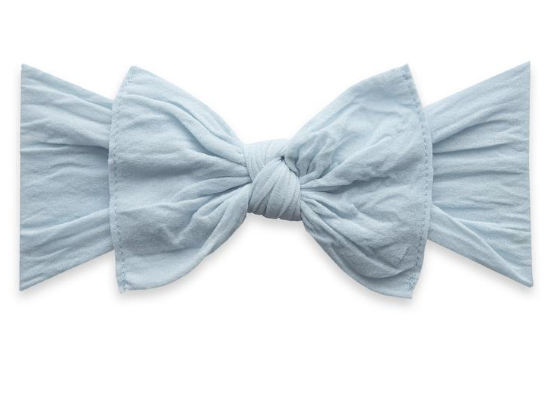 Chambray Classic Knot Headband - Baby Sweet Pea's Boutique