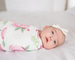 Knit Swaddle Blanket- Grace - Baby Sweet Pea's Boutique