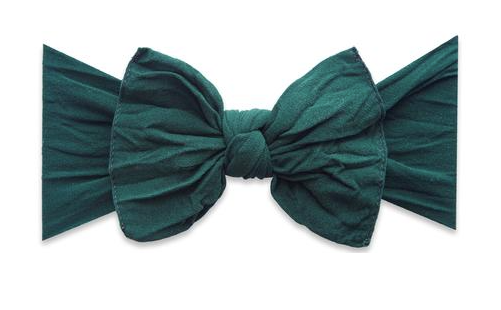 Forest Green Classic Knot Headband - Baby Sweet Pea's Boutique