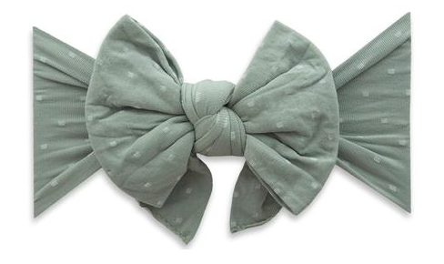 Sage Dot DEB Headband - Baby Sweet Pea's Boutique