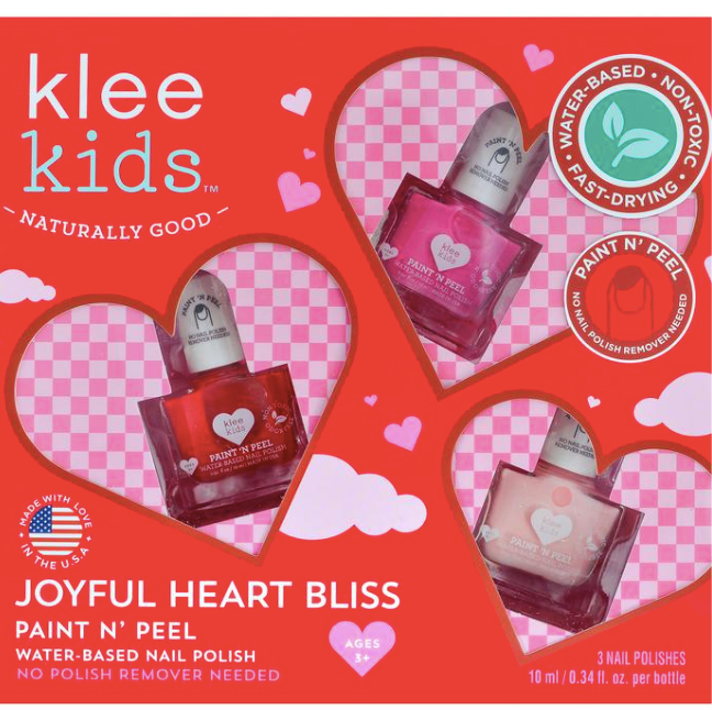Paint N' Peel Nail Polish-Joyful Hearts Bliss - Baby Sweet Pea's Boutique