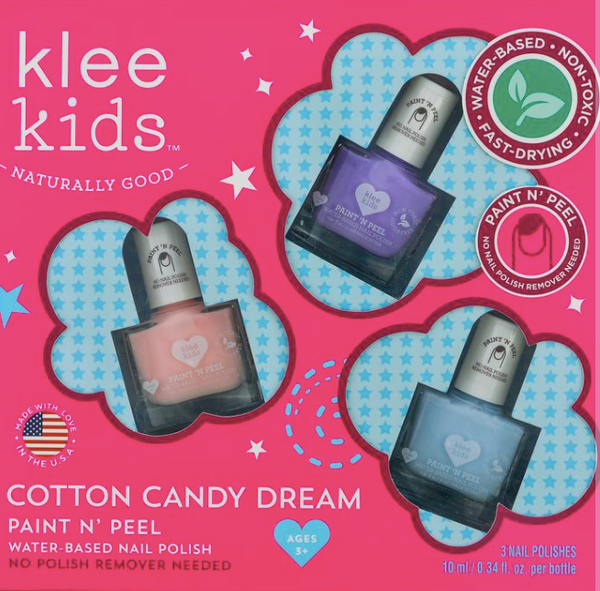 Paint N' Peel Nail Polish-Cotton Candy Dream - Baby Sweet Pea's Boutique
