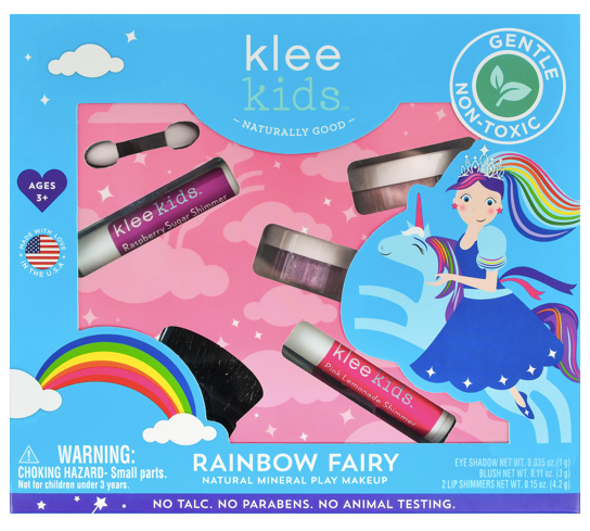 Natural Mineral Play Makeup Set- Rainbow Fairy