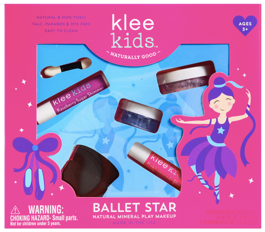 Natural Mineral Makeup Kit- Ballet Star