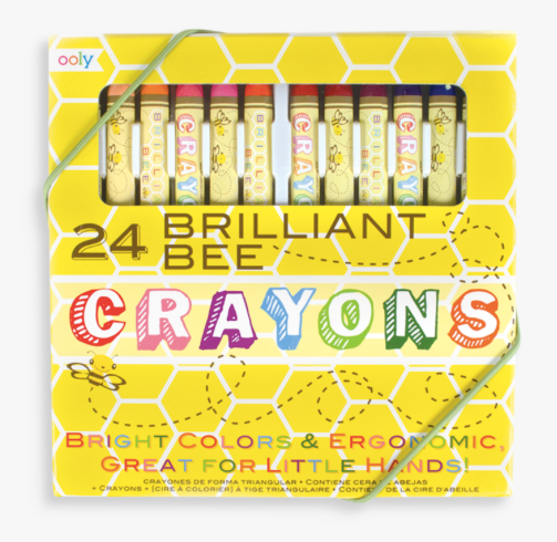 Brillant Bee Crayons - Baby Sweet Pea's Boutique