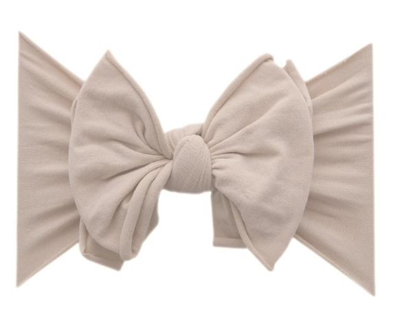 Blush FAB-BOW-LOUS Headband - Baby Sweet Pea's Boutique