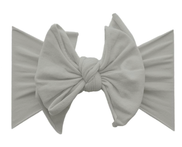 Grey FAB-BOW-LOUS Headband - Baby Sweet Pea's Boutique