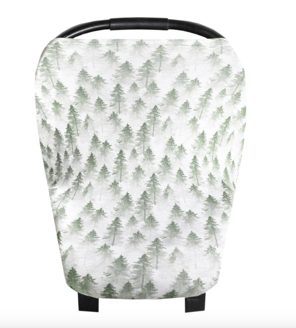Multi-use Cover- Evergreen - Baby Sweet Pea's Boutique