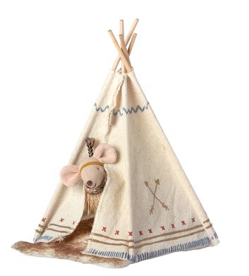Little Feather with tent, Little sister mouse - Baby Sweet Pea's Boutique