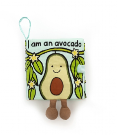 Avocado Fabric Book - Baby Sweet Pea's Boutique