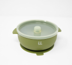 Silicone Bowl- Army Green - Baby Sweet Pea's Boutique