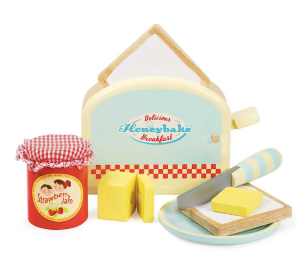Toaster Breakfast Set - Baby Sweet Pea's Boutique