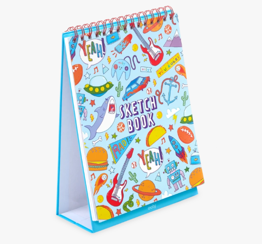 Sketch and Show Standing Sketchbook- Awesome Doodle - Baby Sweet Pea's Boutique
