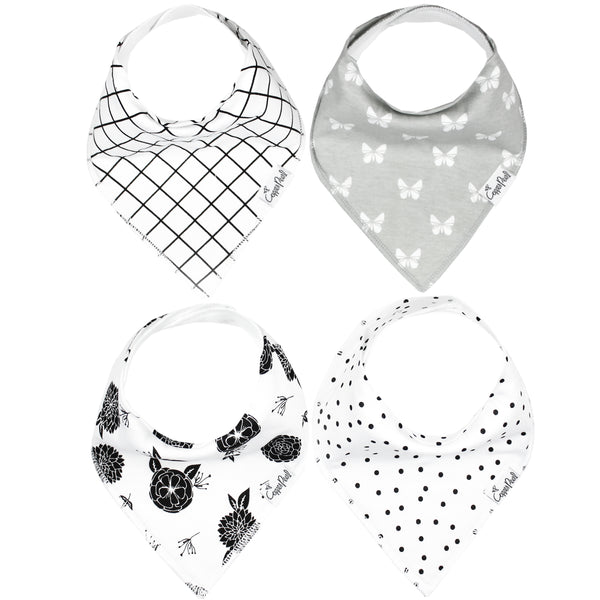 Baby Bandana Bibs- Willow - Baby Sweet Pea's Boutique