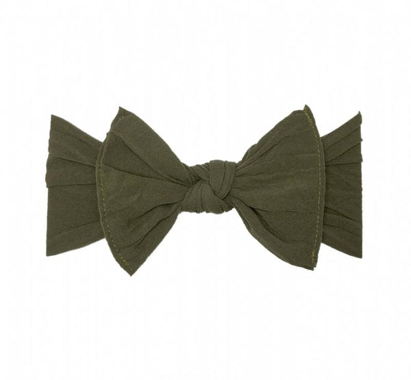 Army Green Classic Knot Headband - Baby Sweet Pea's Boutique