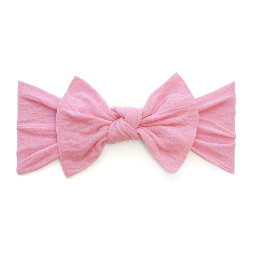 Bubblegum Classic Knot Headband - Baby Sweet Pea's Boutique