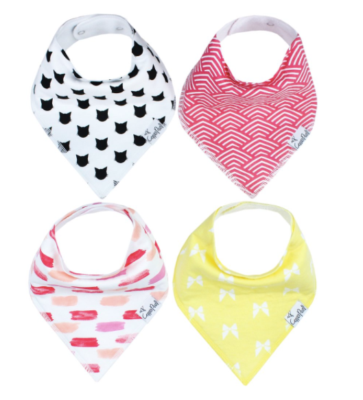 Baby Bandana Bibs- Coco - Baby Sweet Pea's Boutique