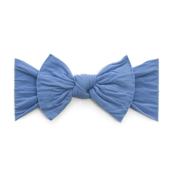 Denim Classic Knot Headband - Baby Sweet Pea's Boutique