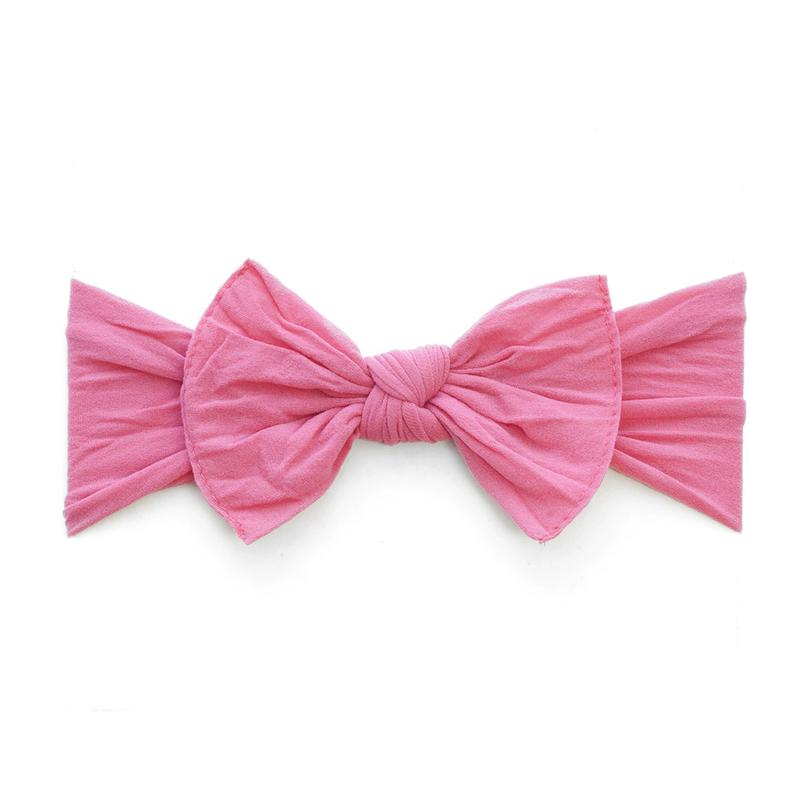 Hot Pink Classic Knot Headband - Baby Sweet Pea's Boutique