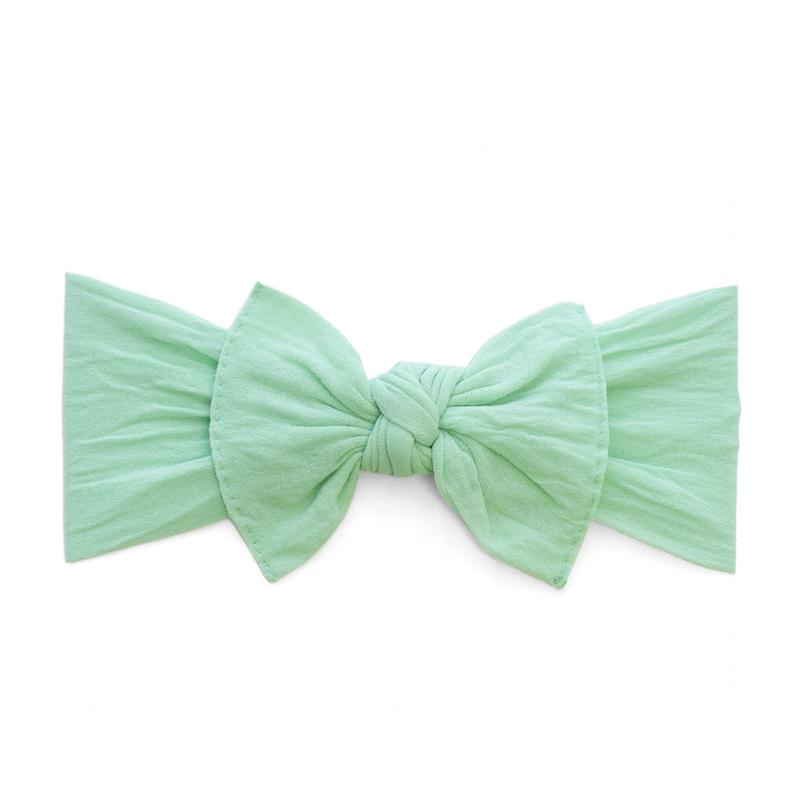 Mint Classic Knot Headband - Baby Sweet Pea's Boutique