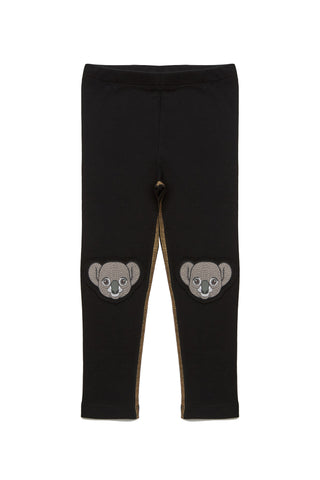 Koala Printed Knees Legging
