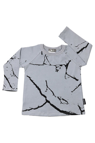 Cracks Long Sleeve Top