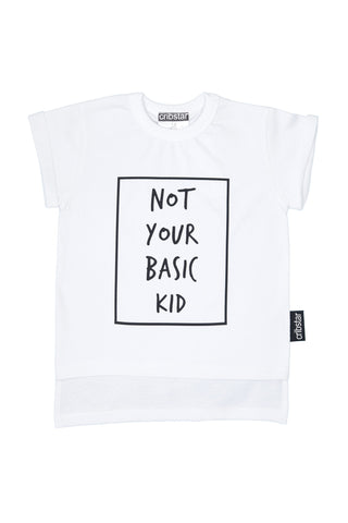 Not Your Basic Kid Tee