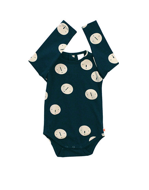 TINYCOTTONS FACES BODY - NAVY - Lille Spire - 1